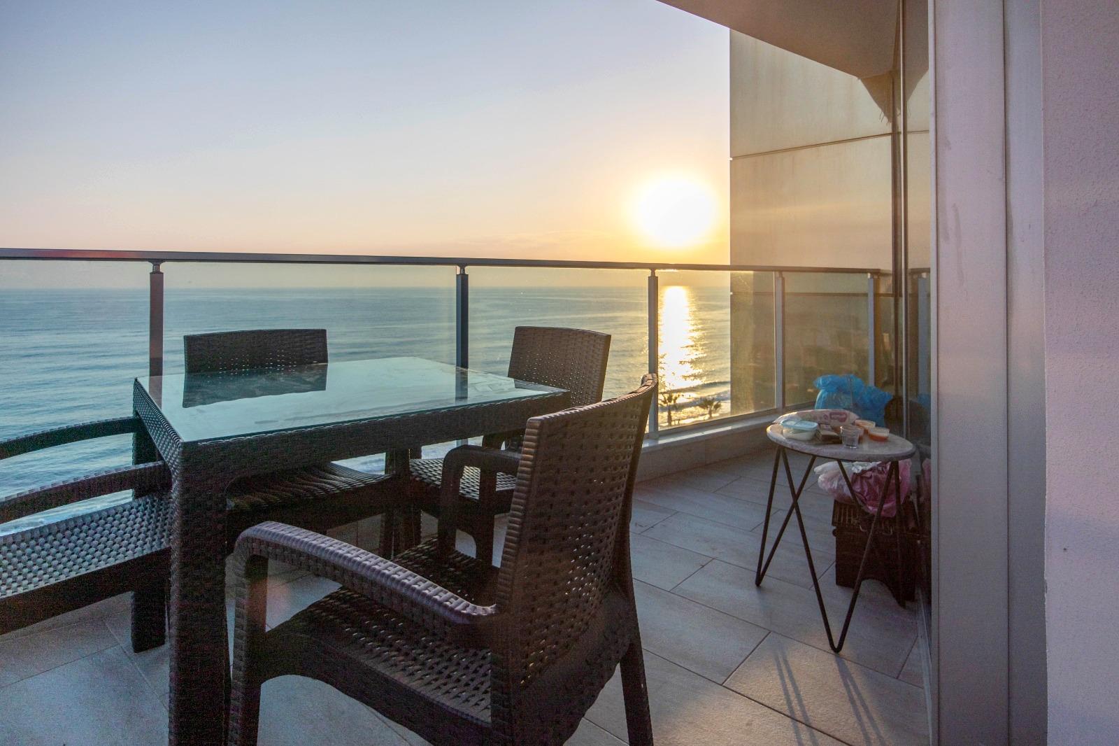 Меблированная квартира 1+1 с панорамным видом на Средиземное море - Фото 21