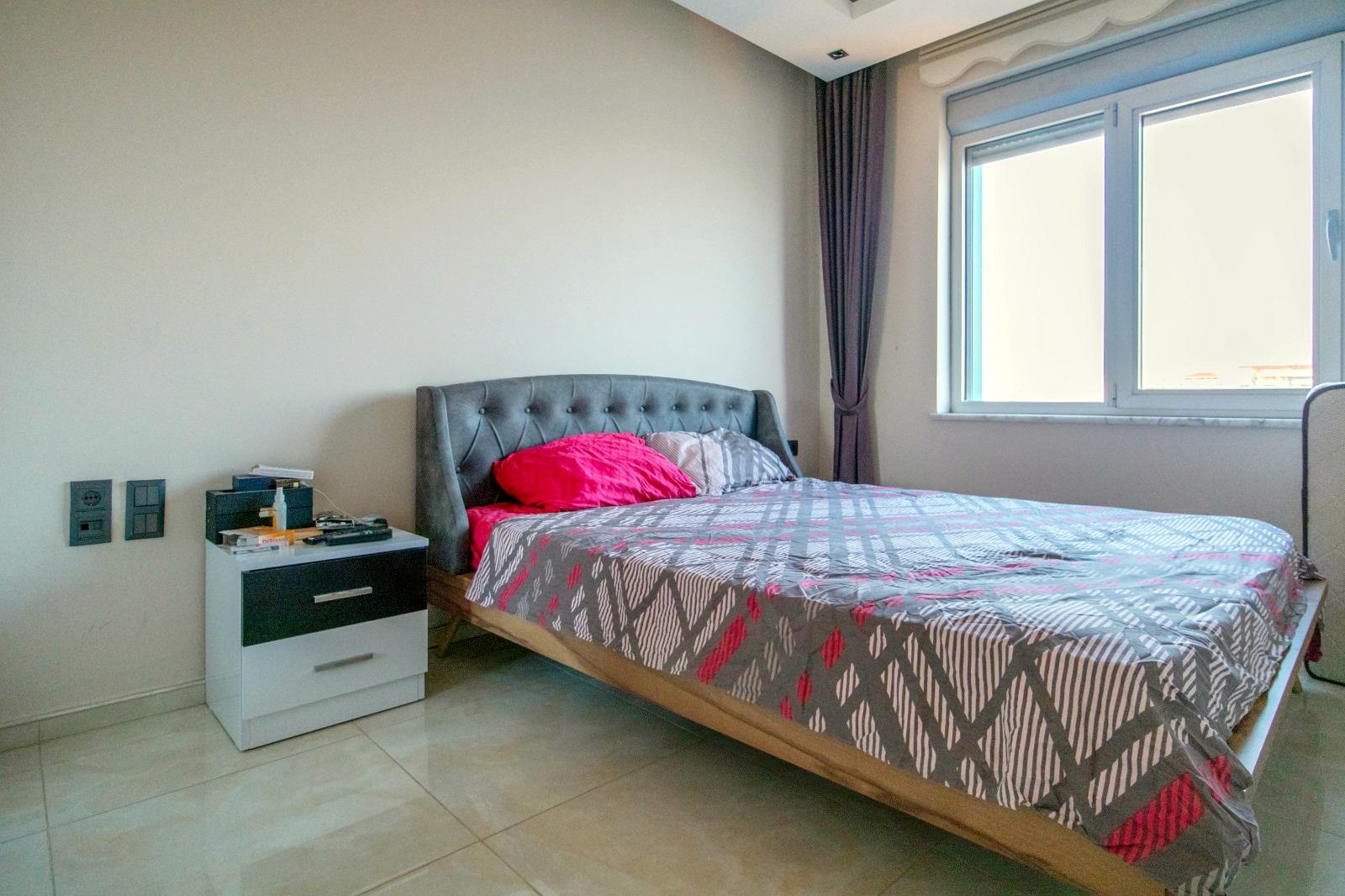 Меблированная квартира 1+1 с панорамным видом на Средиземное море - Фото 12