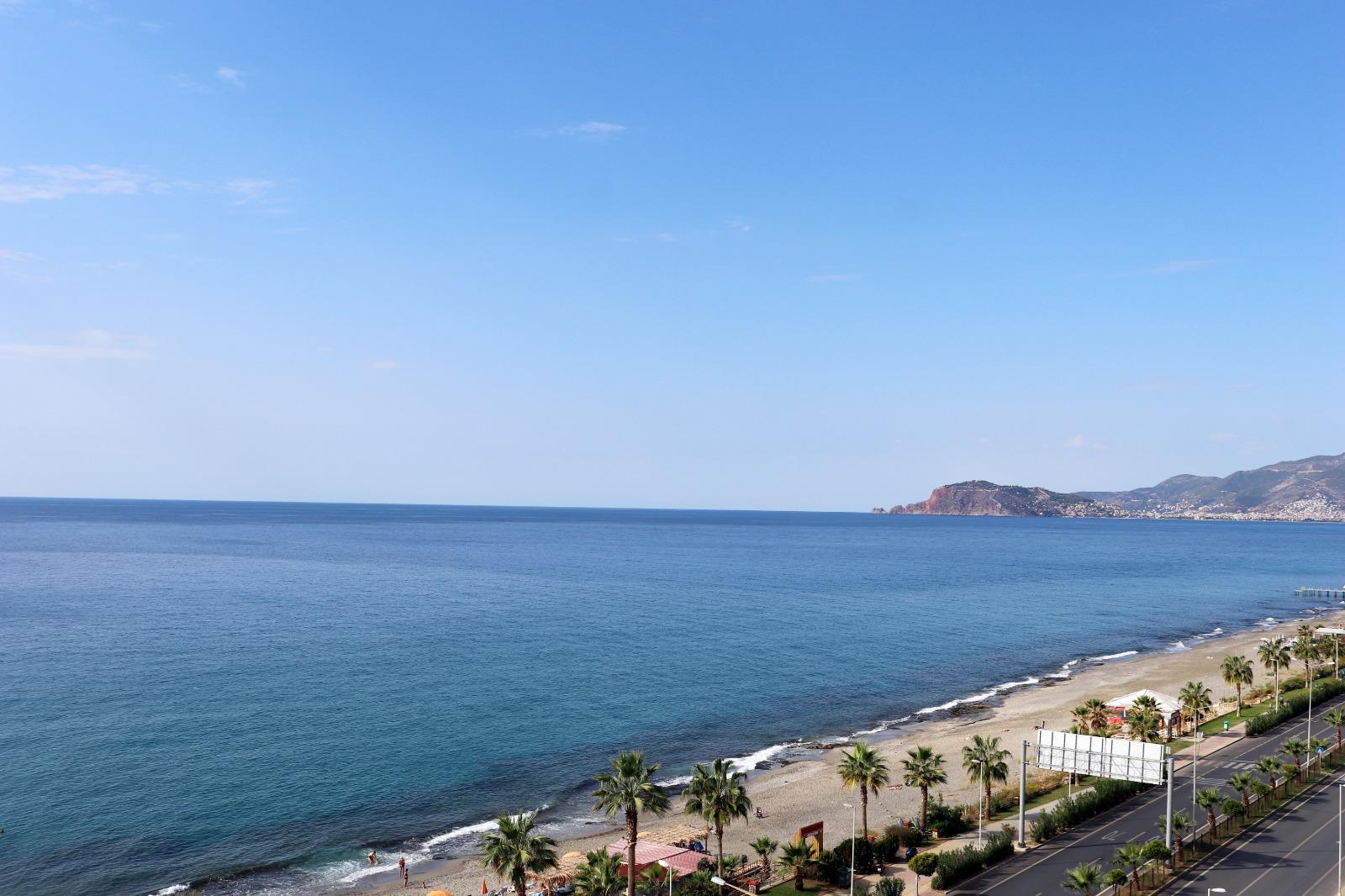 Меблированная квартира 1+1 с панорамным видом на Средиземное море - Фото 19