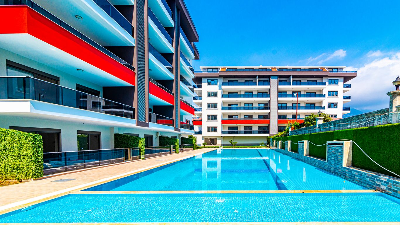 Трехкомнатная квартира в новом комплексе района Кестель