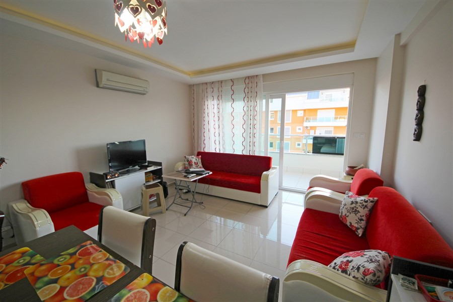 Меблированная квартира 1+1 в центре района Махмутлар - Фото 13