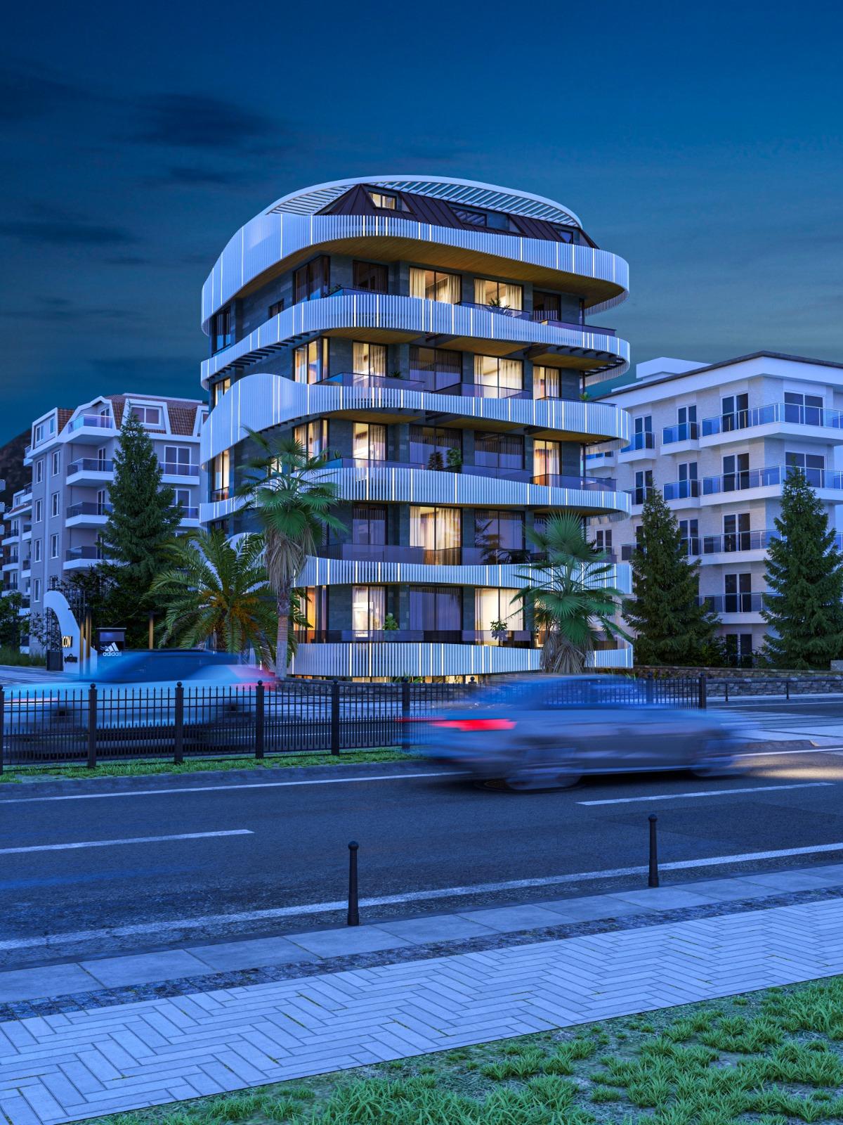 Роскошные квартиры с видом на Средиземное море в элитном районе - Фото 4