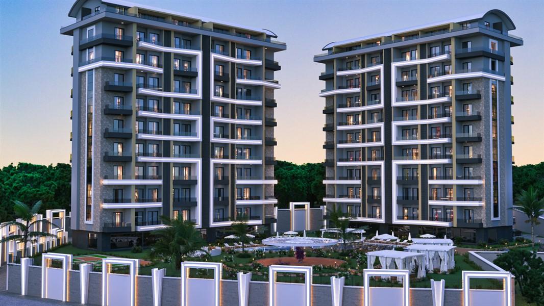 Квартиры с видом на Средиземное море по ценам строительной компании.