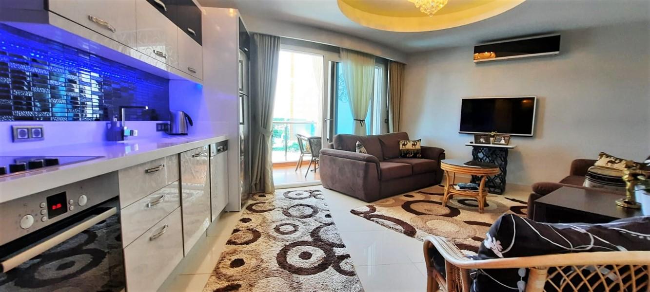 Меблированная квартира 1+1 в жилом комплексе с инфраструктурой отельного типа. - Фото 11