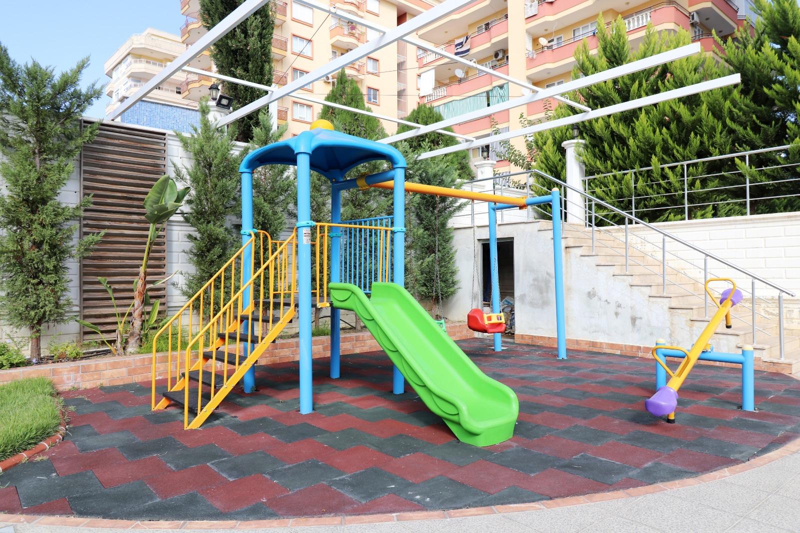 Меблированная квартира 1+1 с панорамным видом на Средиземное море - Фото 5