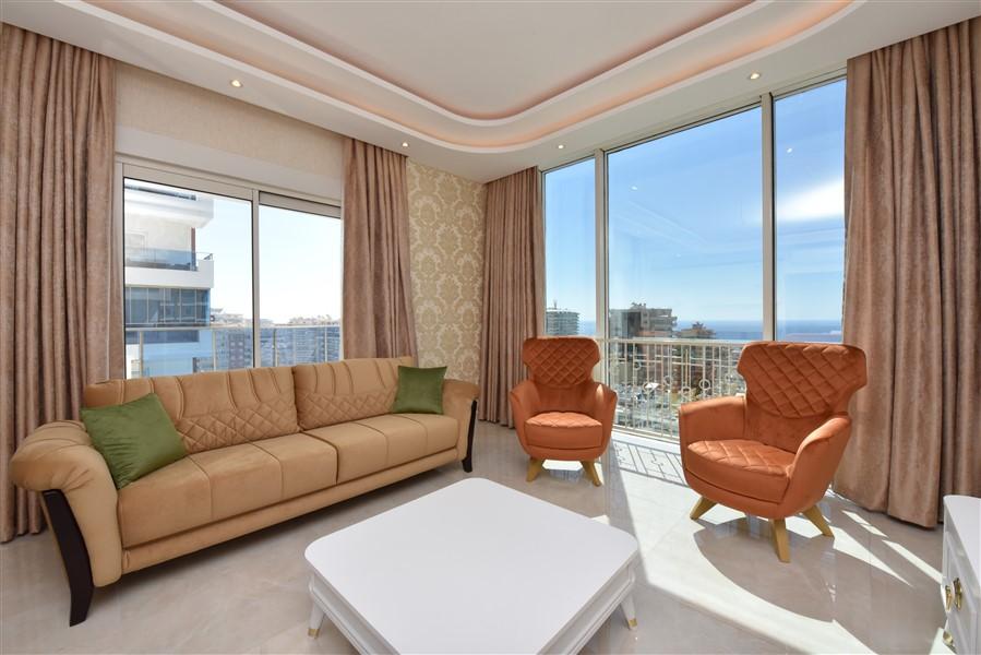 Меблированная квартира 2+1 с видом на Средиземное море. - Фото 18