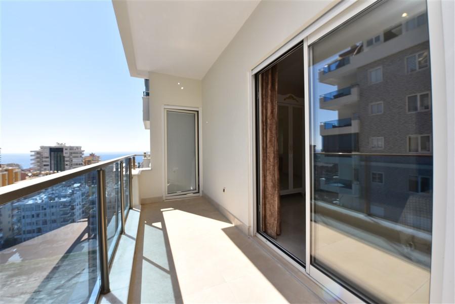 Меблированная квартира 2+1 с видом на Средиземное море. - Фото 28