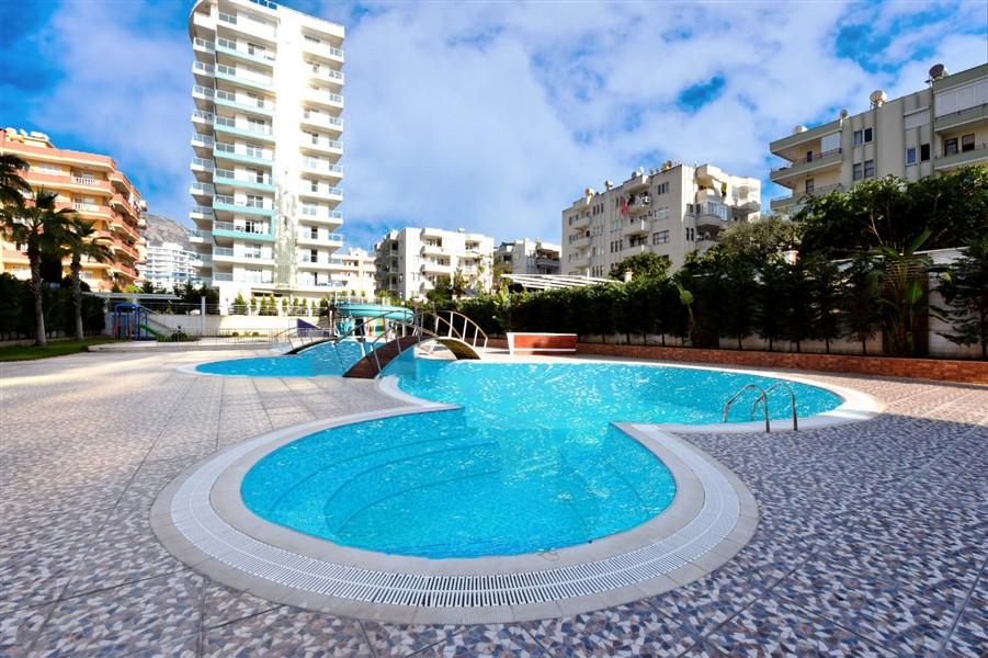Меблированная квартира 1+1 с панорамным видом на Средиземное море - Фото 1