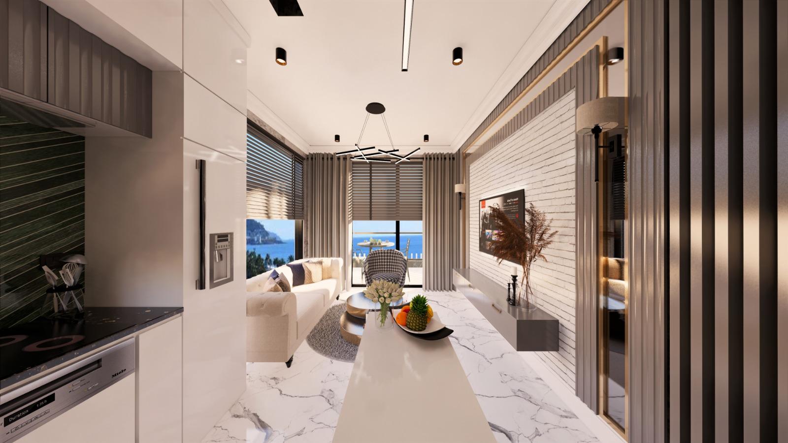 Роскошные квартиры с видом на Средиземное море в элитном районе - Фото 22