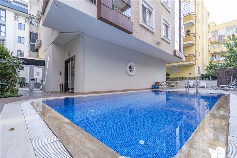 Двухкомнатная квартира в самом центре курортной Аланьи. - Фото 3