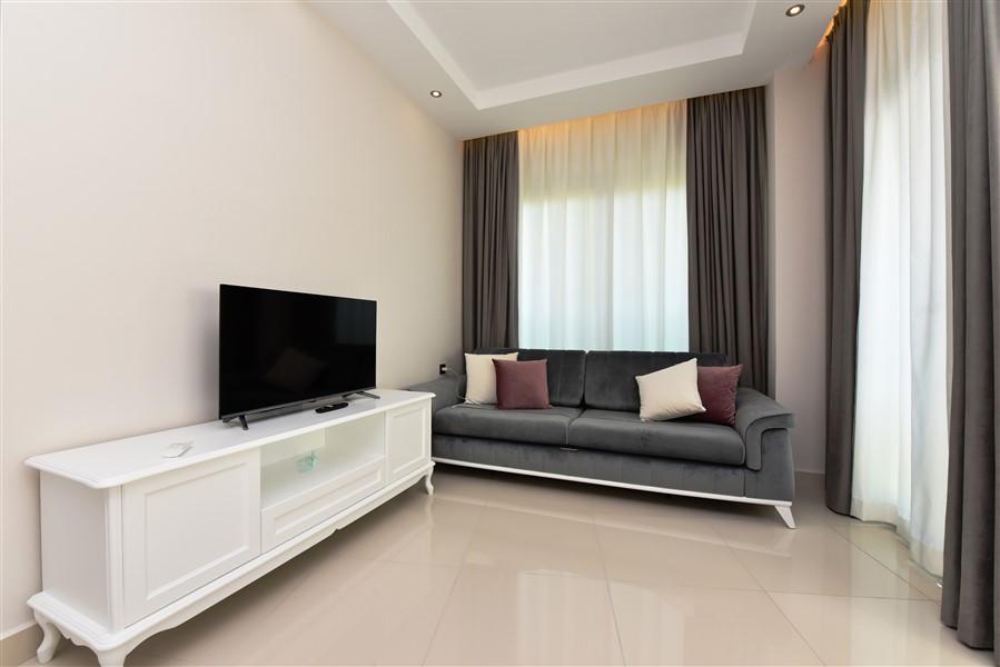 Двухкомнатная квартира с мебелью в курортном посёлке Авсаллар - Фото 7