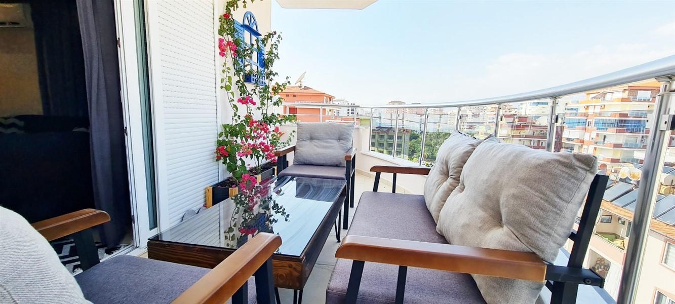 Меблированная квартира 2+1 в жилом комплексе на первой береговой линии - Фото 21
