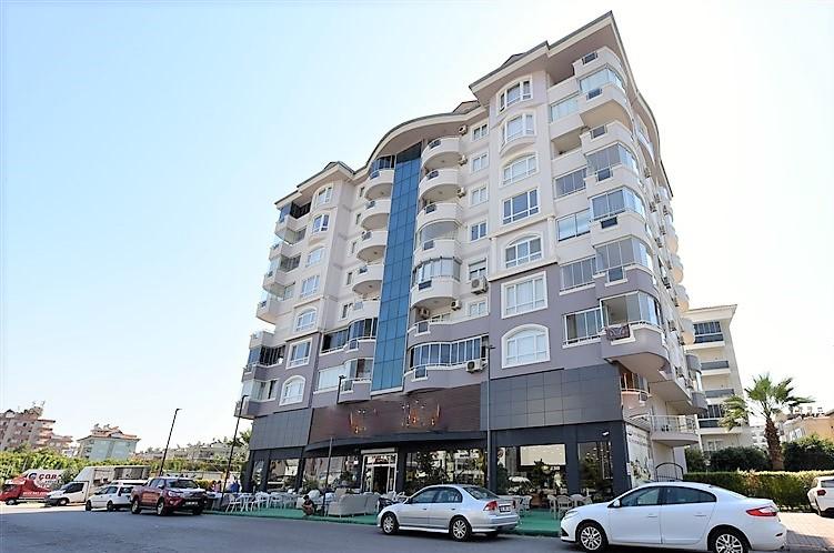 Просторная квартира 3+1 в центре района Оба