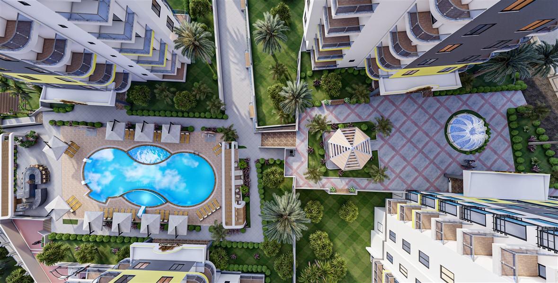 Элитный проект жилого комплекса в районе Махмутлар - Фото 5
