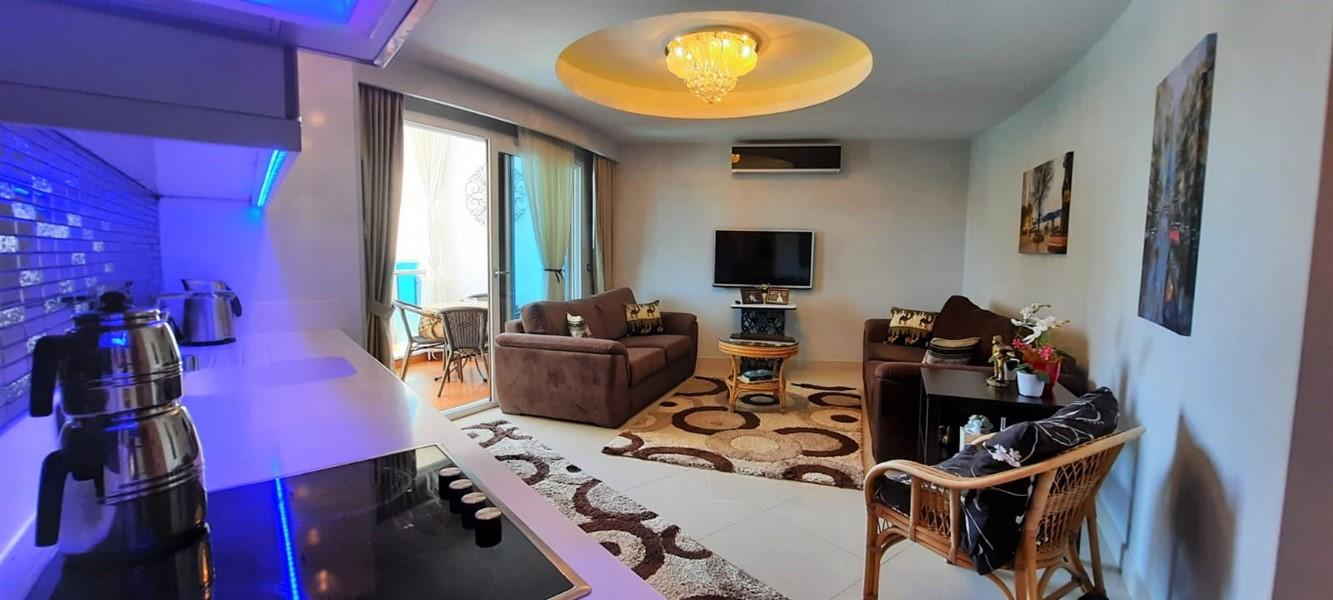 Меблированная квартира 1+1 в жилом комплексе с инфраструктурой отельного типа. - Фото 16