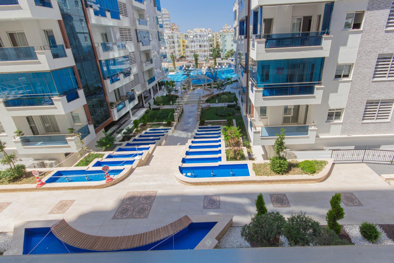 Двухкомнатная квартира в районе Махмутлар - Фото 26