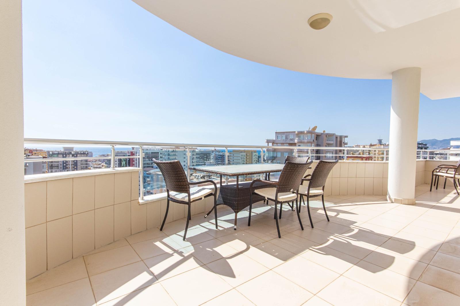 Меблированная квартира 2+1 с видом на море. - Фото 29