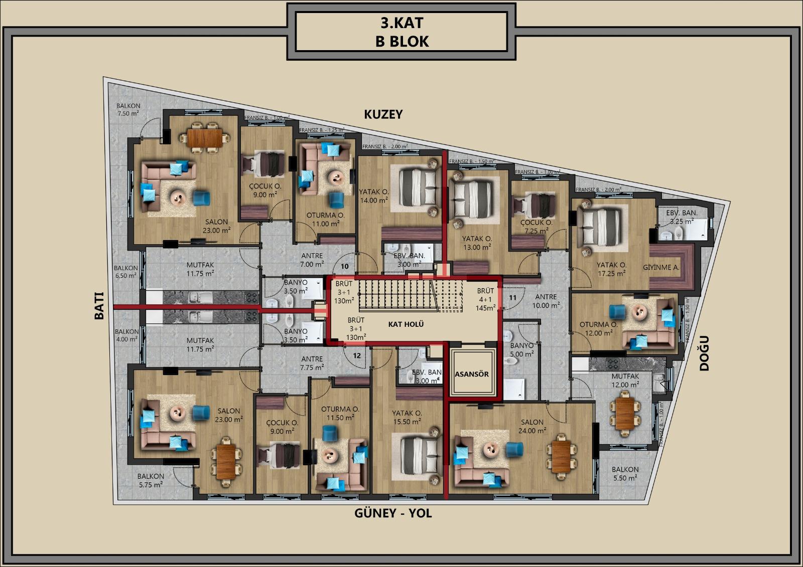 Квартиры от застройщика в центральном районе Антальи - Фото 12