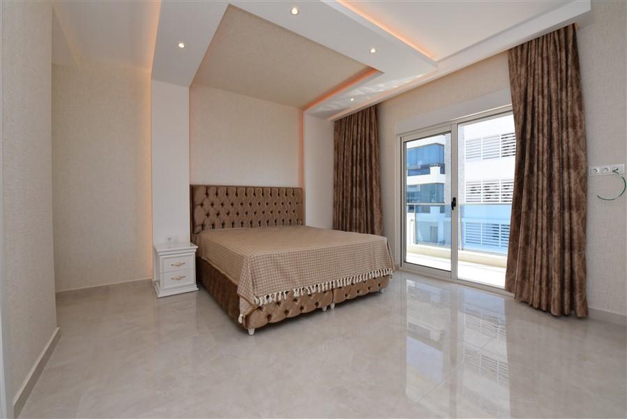 Меблированная квартира 2+1 с видом на Средиземное море. - Фото 30