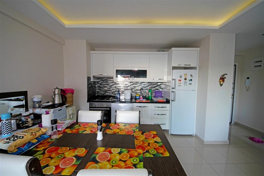 Меблированная квартира 1+1 в центре района Махмутлар - Фото 12