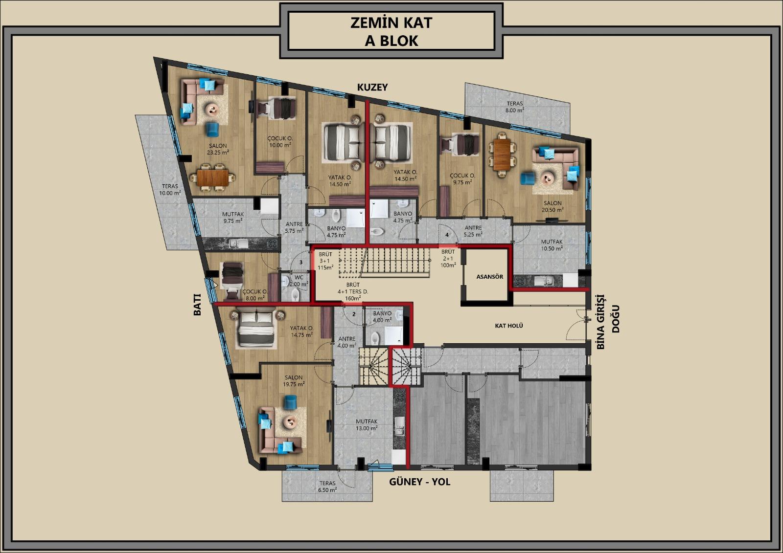 Квартиры от застройщика в центральном районе Антальи - Фото 6