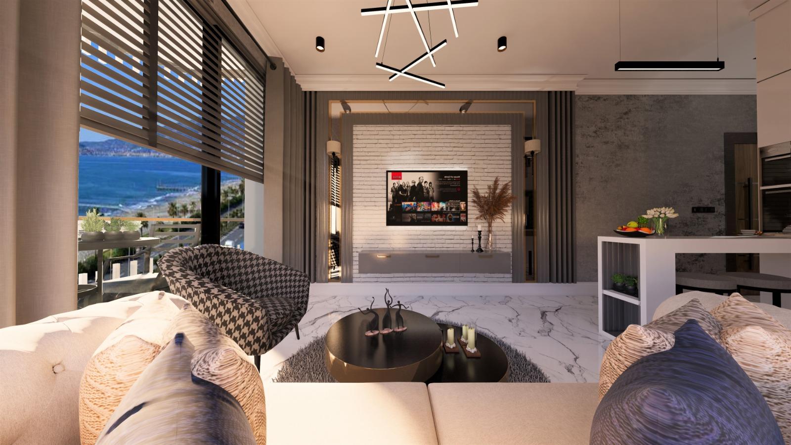 Роскошные квартиры с видом на Средиземное море в элитном районе - Фото 23