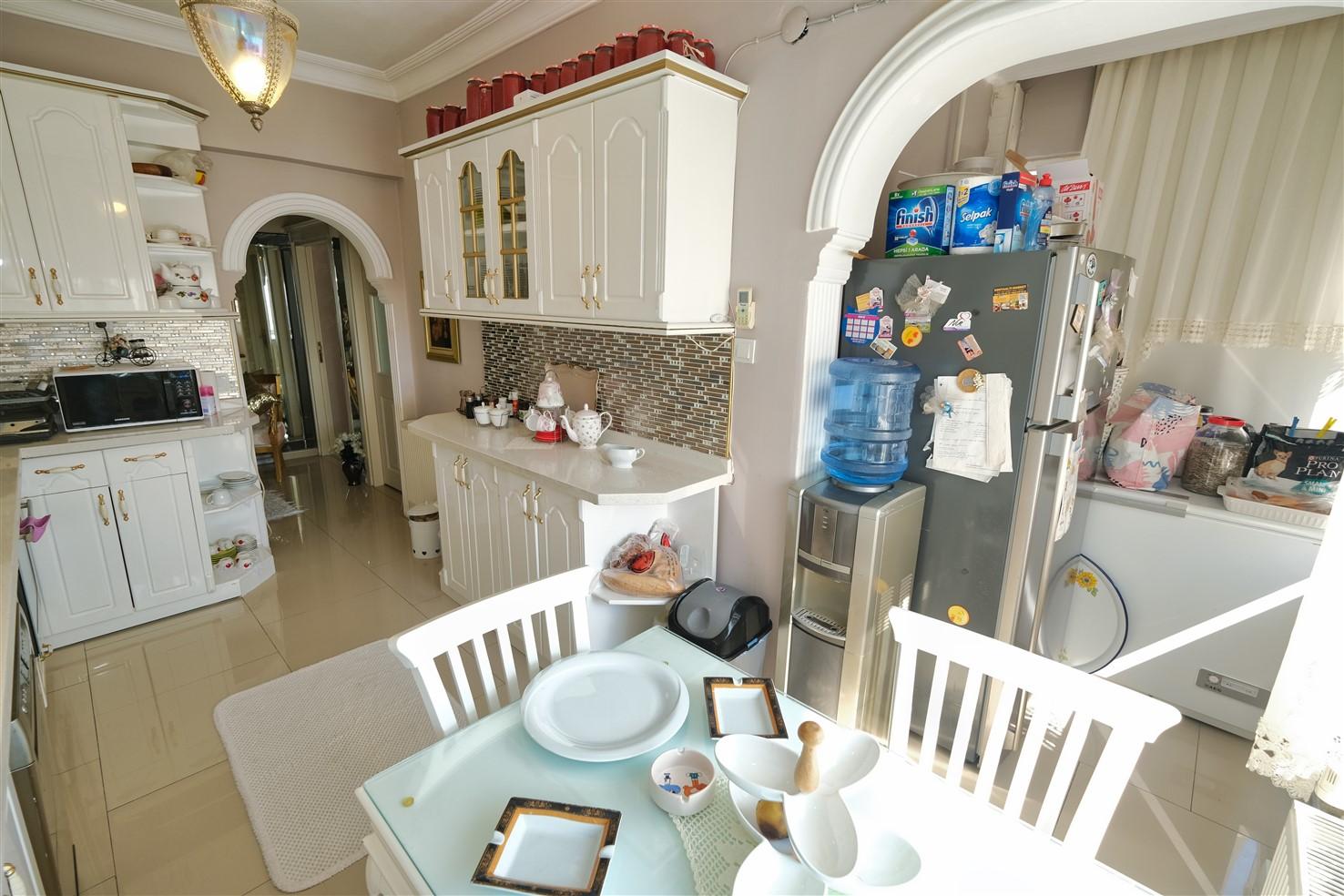 Квартира 3+1 в микрорайоне Лиман, Коньяалты - Фото 17