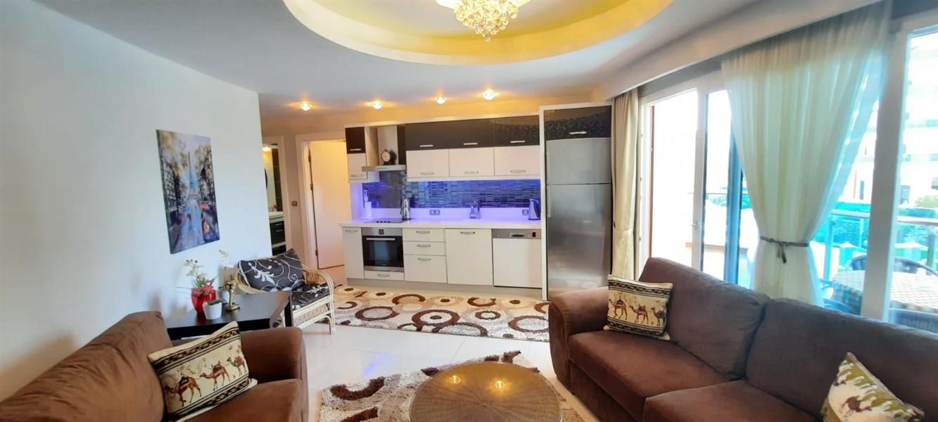 Меблированная квартира 1+1 в жилом комплексе с инфраструктурой отельного типа. - Фото 13