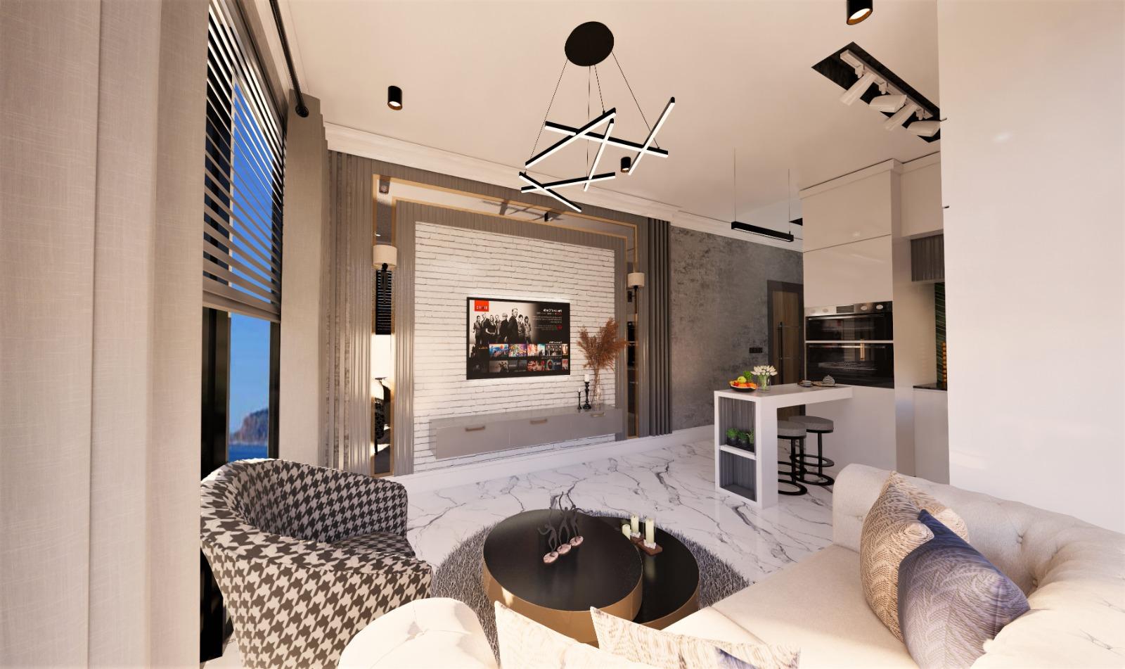 Роскошные квартиры с видом на Средиземное море в элитном районе - Фото 24