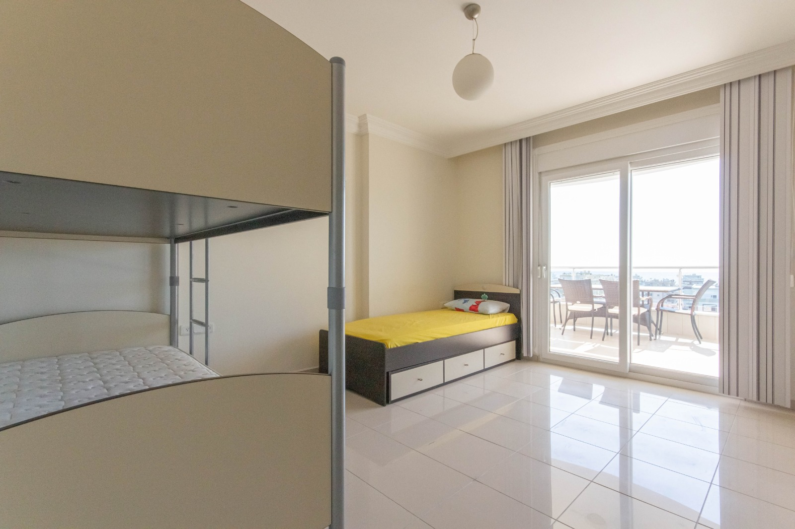 Меблированная квартира 2+1 с видом на море. - Фото 23